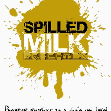 Spilled Milk Graphics Logo by SpilledMilkGraphics