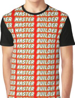 Master Builder | Games Graphic T-Shirt