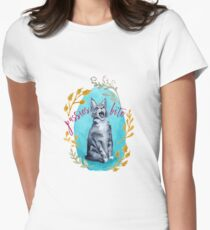 Pussies Bite Women's Fitted T-Shirt