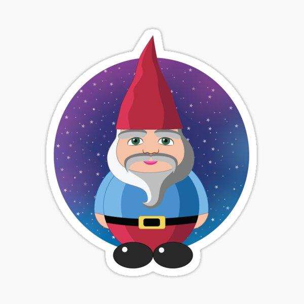Space Gnome Sticker