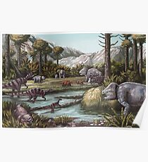 Triassic Period, Illustration Poster