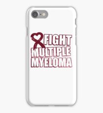 Fight Multiple Myeloma iPhone Case/Skin