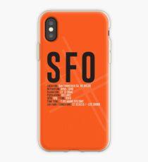 San Francisco Airport SFO iPhone Case