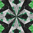 Marble Geometric Background G439 by MEDUSA GraphicART