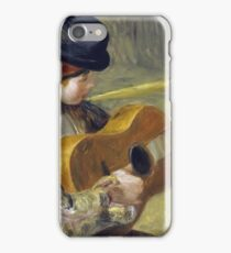 Auguste Renoir - Girl With A Guitar iPhone Case/Skin