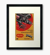 Classic Heavy Metal- MSG Framed Print