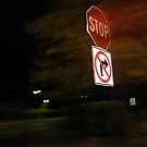 No Right Turn by cfam