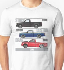 3 in 1 Chevy S10 Slim Fit T-Shirt