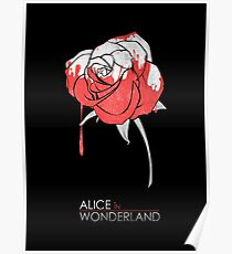 Minimalist Poster : Alice in Wonderland Poster