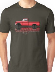 1960-63 Chevy C10 Truck red Unisex T-Shirt