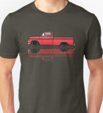 1962-63 Red Chevy C10 Truck  Unisex T-Shirt