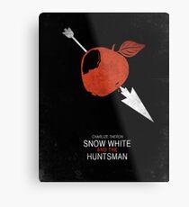 Minimalist Poster : Snow White And The Huntsman Metal Print
