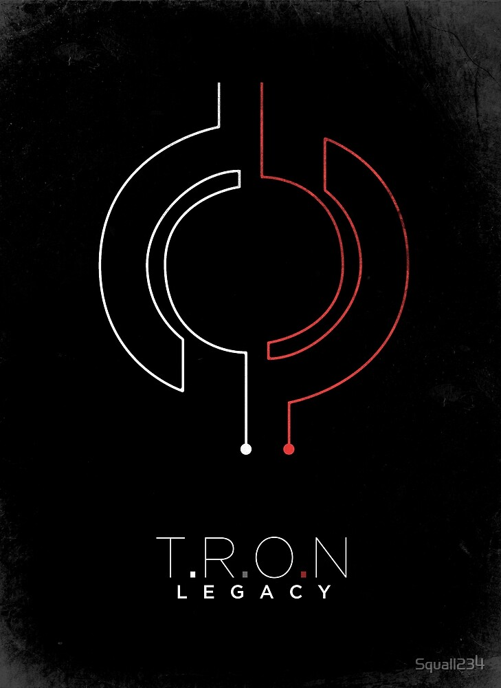 Minimalist Poster : Tron : Legacy by Squall234