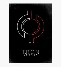 Minimalist Poster : Tron : Legacy Photographic Print