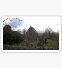 Rural church Sticker
