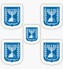 Emblem of the State of Israel ישראל‎  Sticker