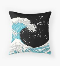 Kanagawa Wave Throw Pillow