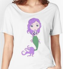 I Heart Mermaids - 2nd of 4 Women's Relaxed Fit T-Shirt