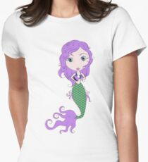 I Heart Mermaids - 2nd of 4 Womens Fitted T-Shirt
