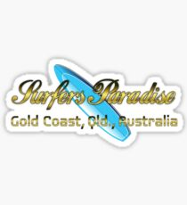 Surfer's Paradise Sticker
