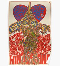 Love Circus - Winterland Psychedelic Rock Poster - Grateful Dead Poster