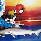 Spider vs Hammer by Luke Jones