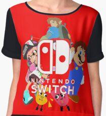 Nintendo Switch Chiffon Top
