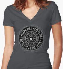 CARPE DIEM Women's Fitted V-Neck T-Shirt