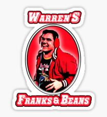 warrens Franks & Beans Sticker