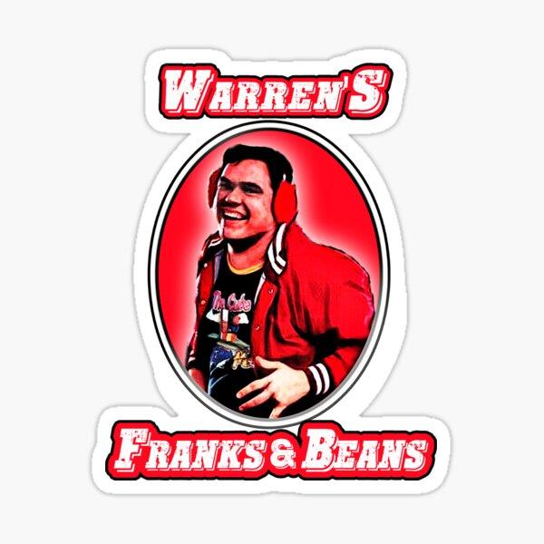 warrens Franks & Beans Sticker