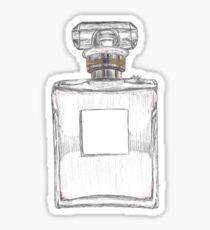 CHANEL Noº5 Perfume Drawing  Sticker