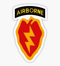 25th Infantry 4th BCT (Airborne) Sticker
