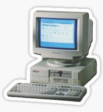 PC Computer Sticker