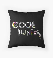 COOLHUNTER Throw Pillow
