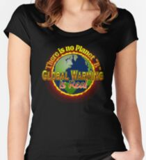 People's Climate Change Global Warming Justice March Washington  Women's Fitted Scoop T-Shirt