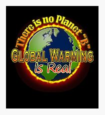People's Climate Change Global Warming Justice March Washington  Photographic Print