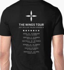 BTS WINGS TOUR CONCERT (White) Unisex T-Shirt