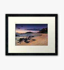 Big Beach Sundown - Maui Framed Print