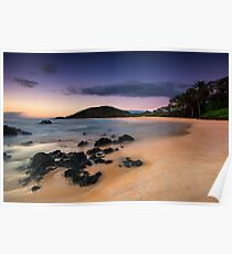 Big Beach Sundown - Maui Poster