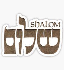 Shalom שָׁלוֹם Sticker