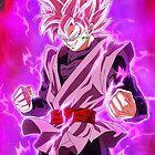 Black Goku Super Saiyan Rose by IAmZen
