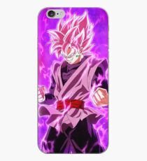 Vinilo o funda para iPhone Black Goku Super Saiyan Rose
