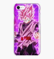 Black Goku Super Saiyan Rose iPhone Case/Skin
