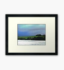 Storm clouds over Donegal, Ireland Framed Print