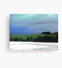 Storm clouds over Donegal, Ireland Canvas Print