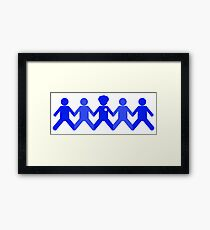 Support Law Enforcement Framed Print