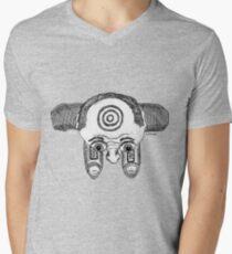 Bulls Eye Mens V-Neck T-Shirt