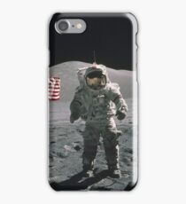 Man on the moon | Space iPhone Case/Skin