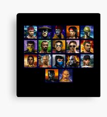 Mortal Kombat 4 Character Select  Canvas Print