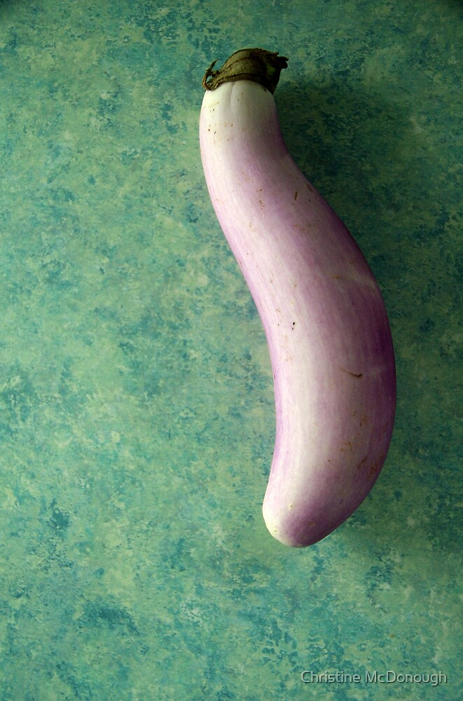 eggplant by Christine McDonough